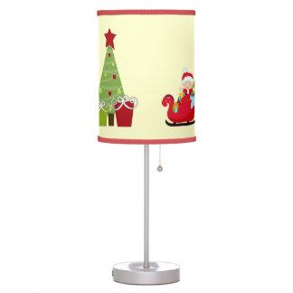 Lámparas de mesa del bebé del navidad
