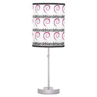 lámparas debian del logotipo de Linux