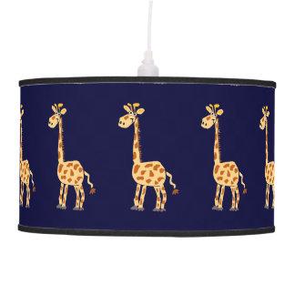 Lámparas primitivas de la jirafa del arte lámpara de techo