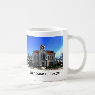Lampasas Courthouse Nov 2009 Texas Coffee Mug