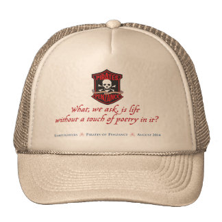 Lamplighters Music Theatre The Pirates of Penzance Hat