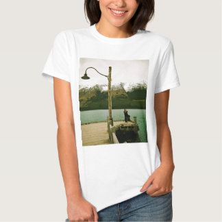 Lamppost and Mountains - New Zealand Shirt