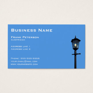 Lamppost Business Card