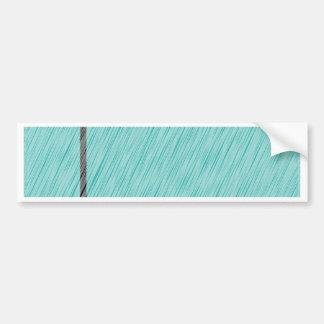 Lamppost en la lluvia pegatina para auto