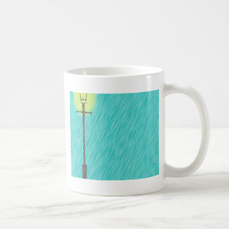 Lamppost In the Rain Coffee Mug