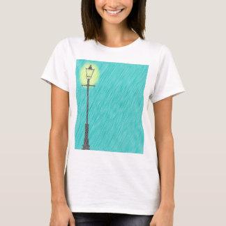 Lamppost In the Rain T-Shirt