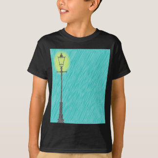 Lamppost In the Rain T-Shirt
