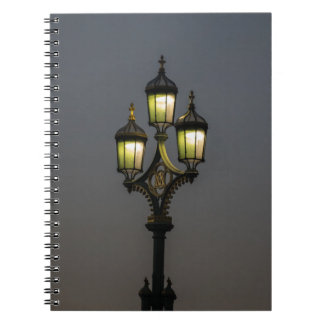 Lamppost notebook