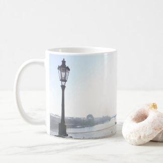 Lamppost on Charles Bridge (Prague) Coffee Mug