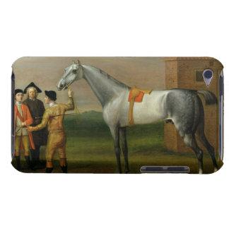 Lamprea, con su dueño, sir Guillermo Morgan, en el Cubierta Para iPod De Barely There