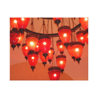 Lamps Canvas Print
