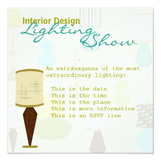 Lamps Card