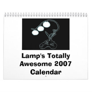 Lamp's Totally Awesome 2007 Calendar