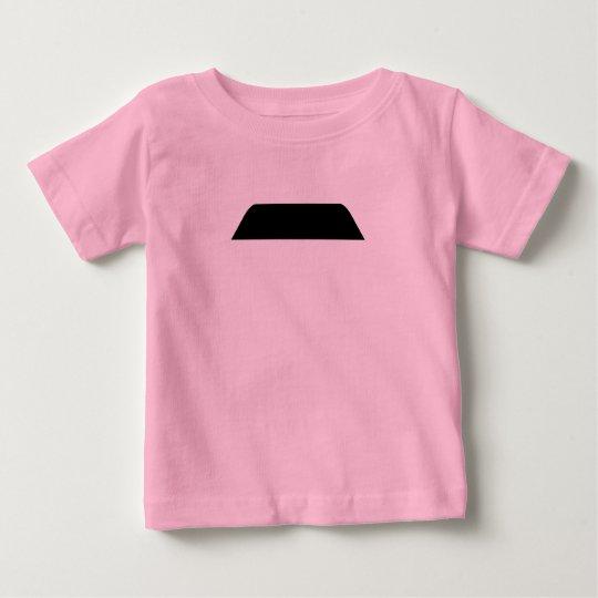 Lampshade Mustache Baby T-Shirt