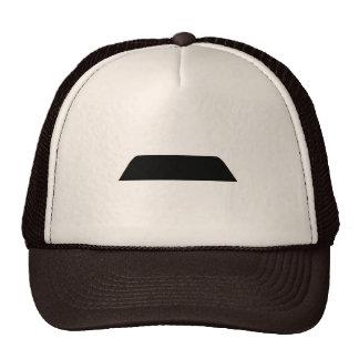 Lampshade Mustache Trucker Hats