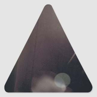 Lampshadespace... Triangle Sticker
