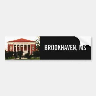 Lampton Auditorium Brookhaven, Mississippi Car Bumper Sticker