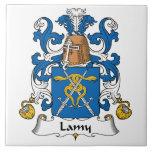 Lamy Family Crest Ceramic Tile