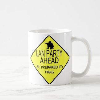 Lan Party Ahead Mugs