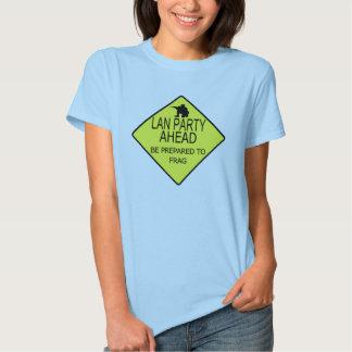 Lan Party Ahead Tee Shirt