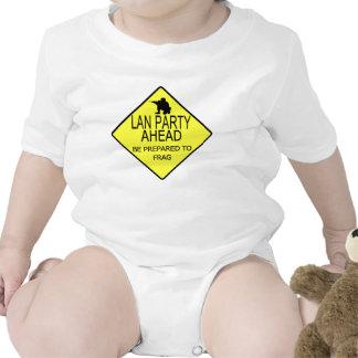 Lan Party Ahead Tee Shirts