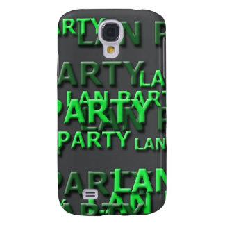 Lan Party Logo Samsung Galaxy S4 Cover