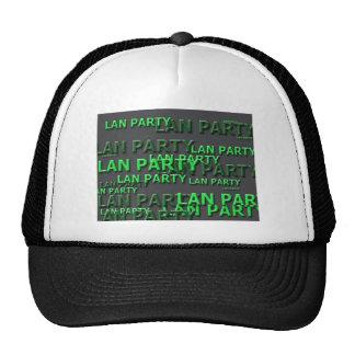 Lan Party Logo Mesh Hat