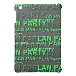 Lan Party Logo iPad Mini Case