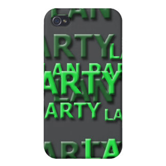 Lan Party Logo iPhone 4 Covers