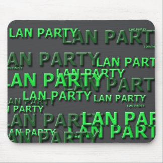 Lan Party Logo Mousepads