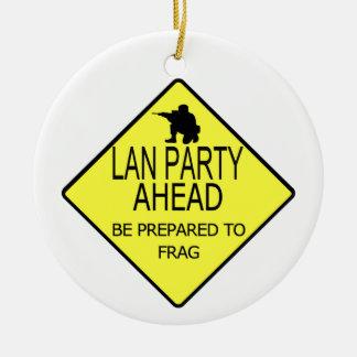Lan Party Ornament