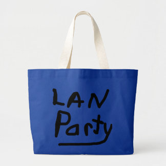LAN PARTY TOTE BAG