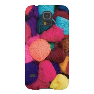 Lana de alpaca colorida, Huaraz, Blanca de Carcasa Para Galaxy S5