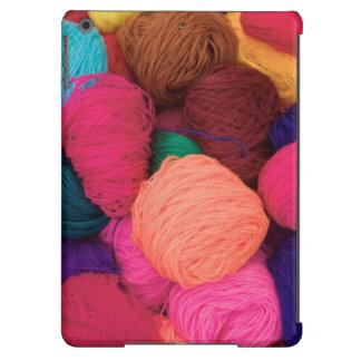 Lana de alpaca colorida, Huaraz, Blanca de Funda Para iPad Air
