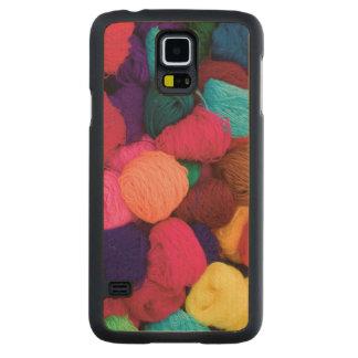 Lana de alpaca colorida, Huaraz, Blanca de Funda De Galaxy S5 Slim Arce