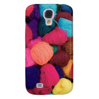 Lana de alpaca colorida, Huaraz, Blanca de Funda Para Galaxy S4