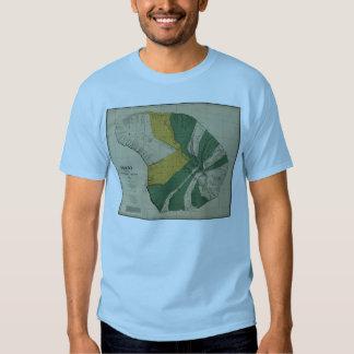 Lanai, 1878, Vintage Hawaii Map T Shirt