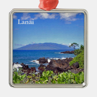 Lanai from Maui Metal Ornament