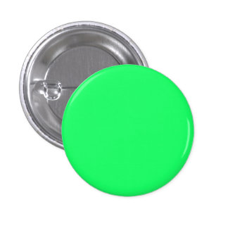 Lanai Lime-Green-Acid Green-Tropical Romance 1 Inch Round Button