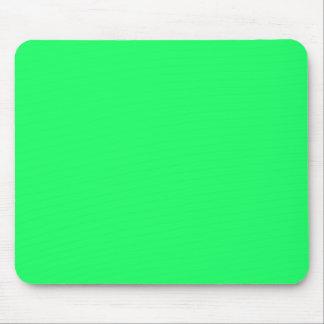 Lanai Lime-Green-Acid Green-Tropical Romance Mouse Pad