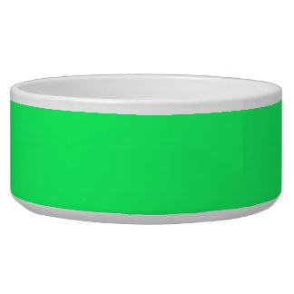 Lanai Lime-Green-Acid Green-Tropical Romance Pet Food Bowls