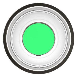 Lanai Lime-Green-Acid Green-Tropical Romance Pet Bowl