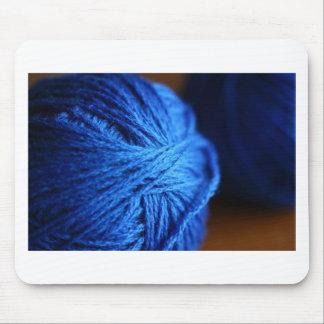 Lanas azules tapetes de ratón
