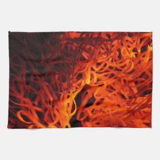 Lanas de acero que brillan intensamente toallas de cocina