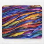 lanas del arco iris alfombrilla de raton