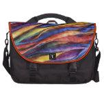 lanas del arco iris bolsas para portatil
