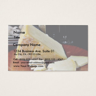 Lancashire Cheese Business Card