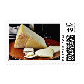 Lancashire Cheese Postage Stamp
