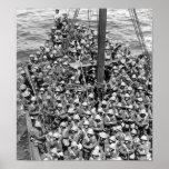 Lancashire Fusiliers en Gallipoli Póster
