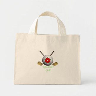 Lancashire Golf Logo Bag